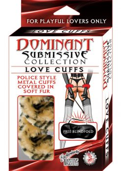 Dominant Submissive Love Cuffs Leopard