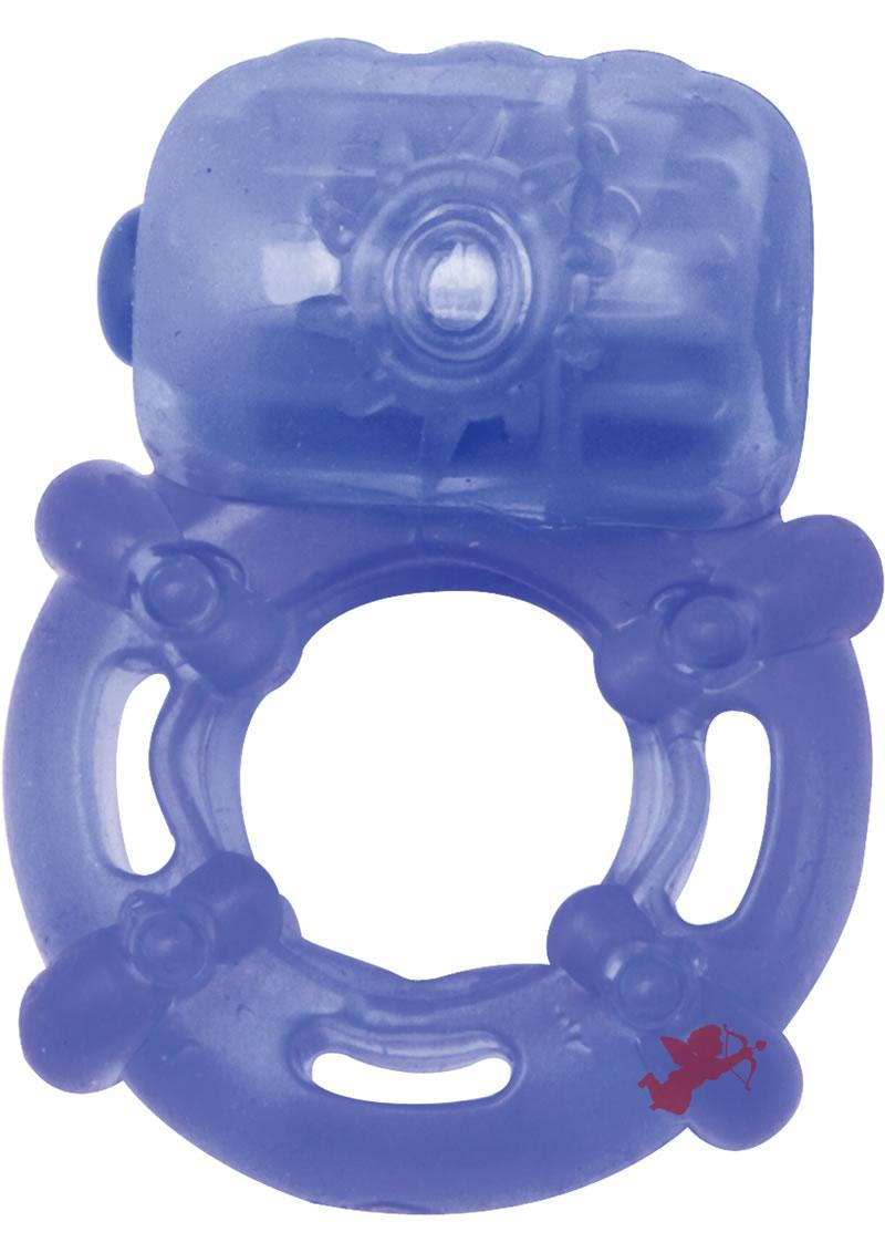 Climax Juicy Rings Cock Ring Waterproof Blue