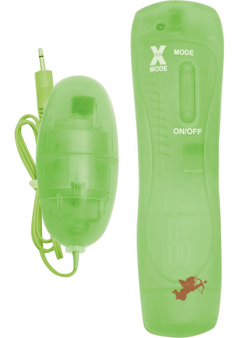 Climax 10x Super Vibrating Bullet Green