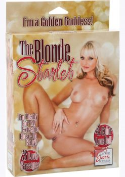 The Blonde Starlet Love Doll
