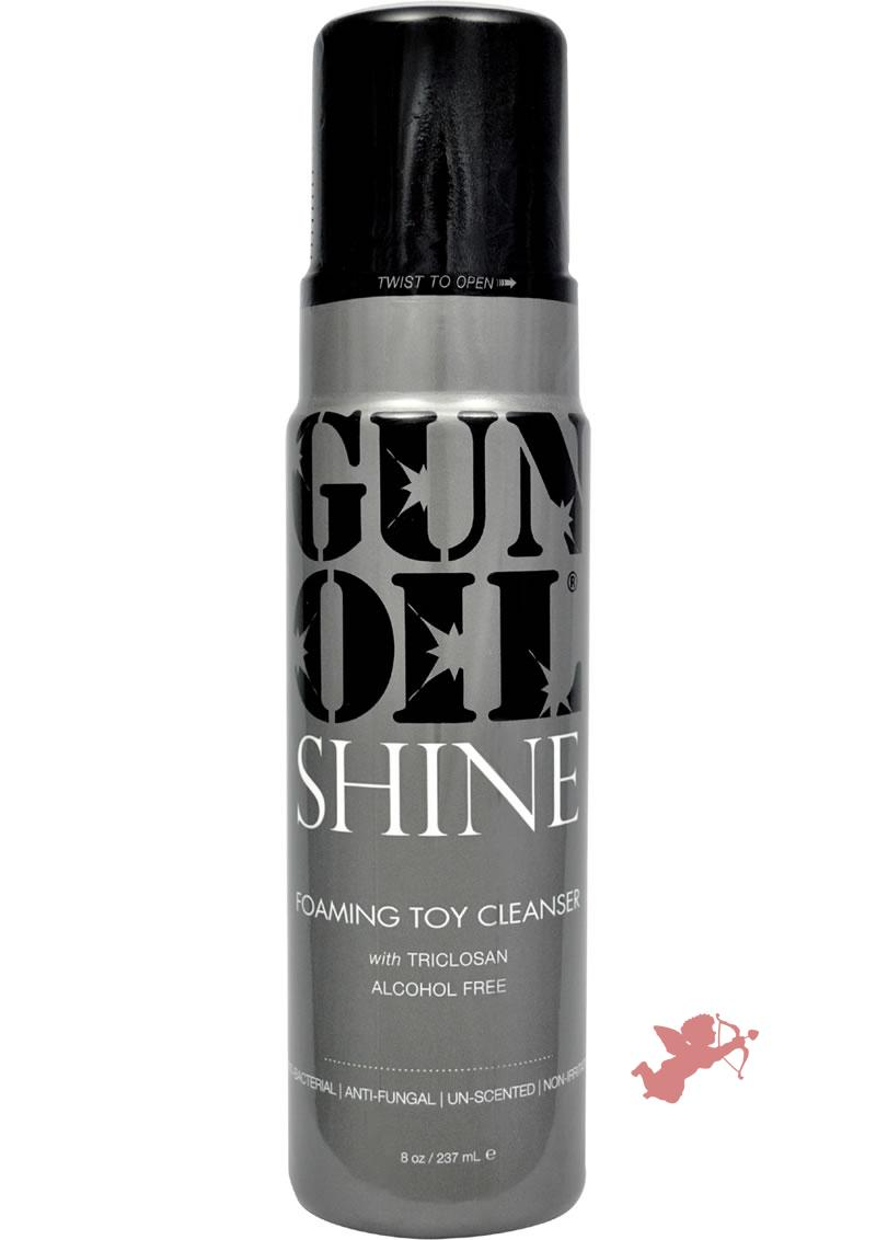 Gun Oil Shine Foaming Toy Cleanser 8 Ounce