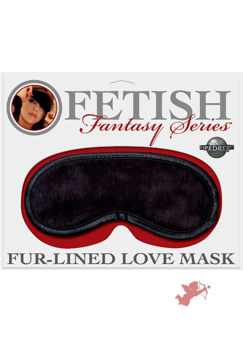 Fetish Fantasy Fur Lined Love Mask