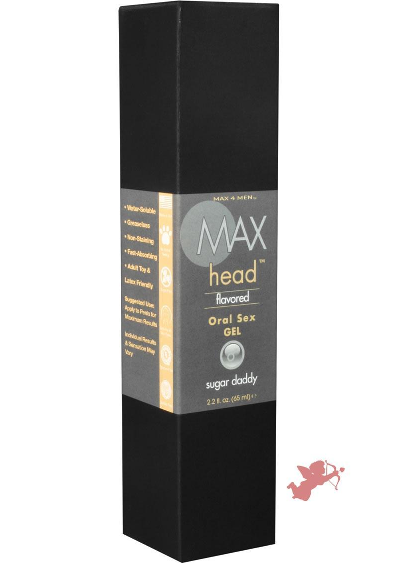 Max 4 Men Max Head Flavored Oral Sex Gel Sugar Daddy 2.2 Ounce