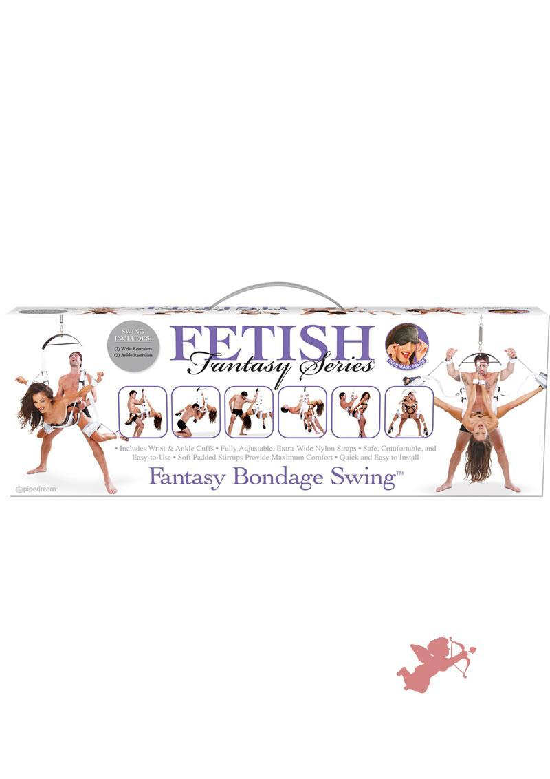 Fetish Fantasy Fantasy Bondage Swing White