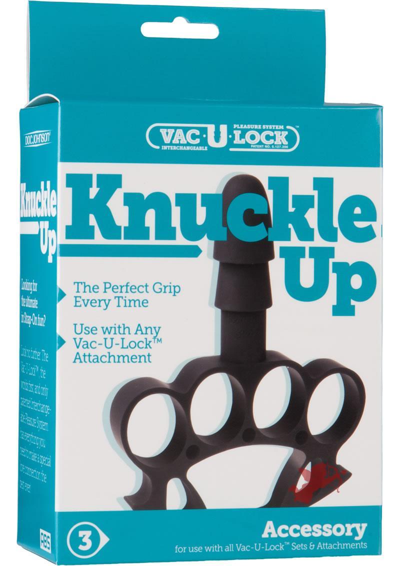Vac U Lock Knuckle Up Black