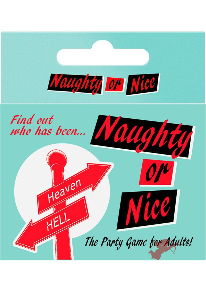 Naughty Or Nice Drinking Card Game