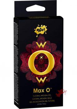 Wow Max O Clitoral Arousal Gel