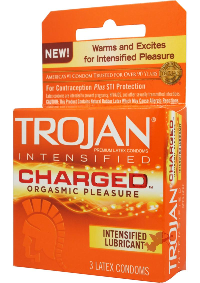 Trojan Intensified Charged 3 Pack