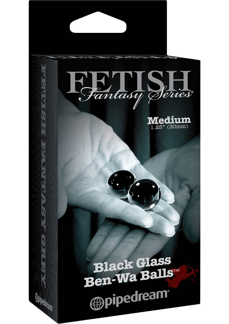 Fetish Fantasy Limited Edition Glass Ben Wa Balls Medium