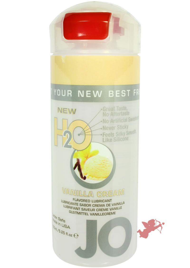 Jo H2O Flavored Lube Vanilla Cream 5.25 Ounce