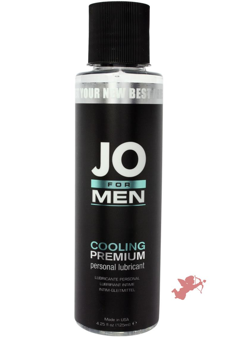 Jo For Men H2O Cooling Premium Personal Lubricant 4.25 Ounce