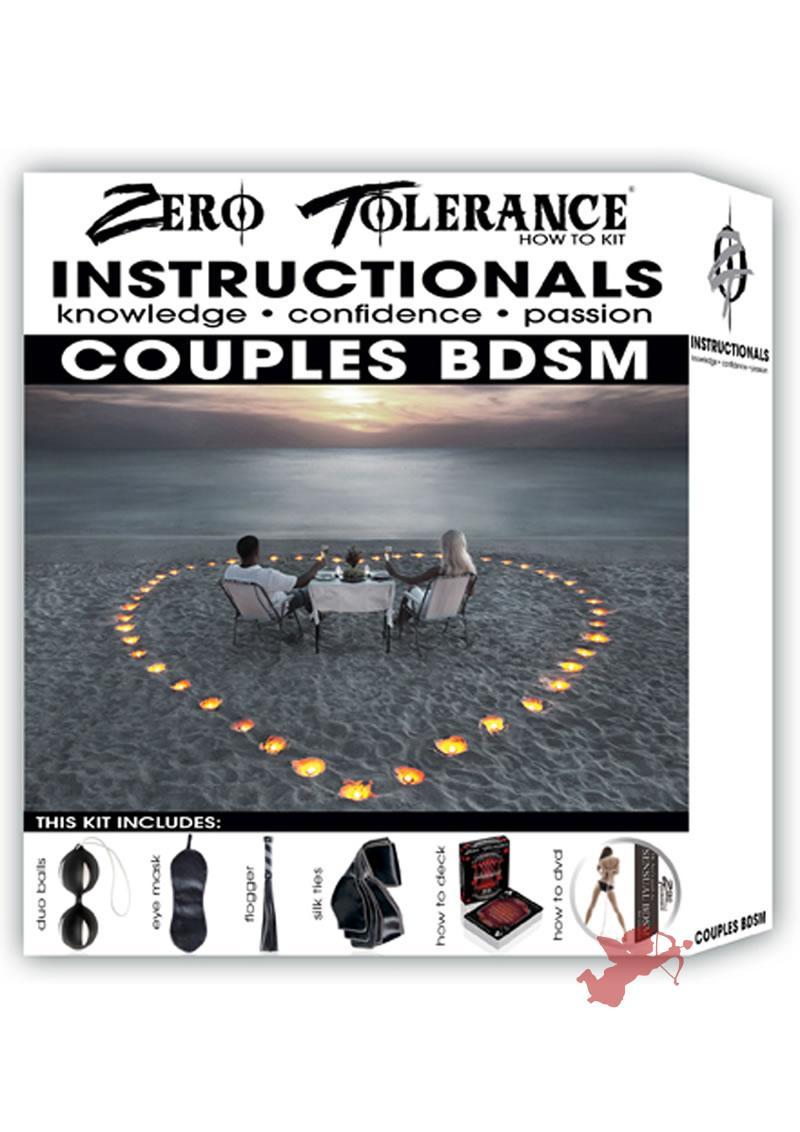 Zero Tolerance How To Instructionals Couples BDSM Kit
