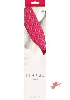 Sinful Vinyl Paddle Pink