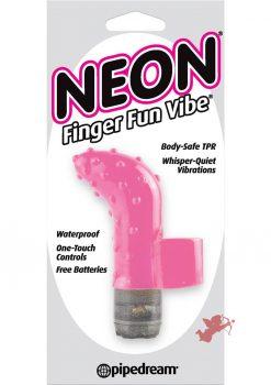 Neon Finger Fun Vibe Waterproof Pink