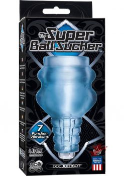 Super Ball Vibrating Sucker Waterproof Clear