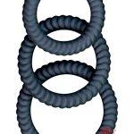Ram Ultra Cocksweller Silicone Cock Rings Waterproof Black