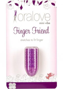 Oralove Mini Vibe Finger Friend Purple