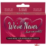 We've Never …But We Will Couples Card Game