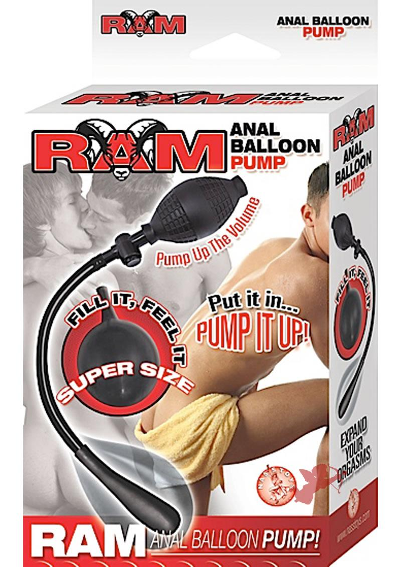 Ram Anal Balloon Pump Black