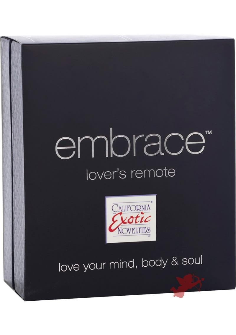 Embrace Lovers Remote Silicone Massager Waterproof Grey