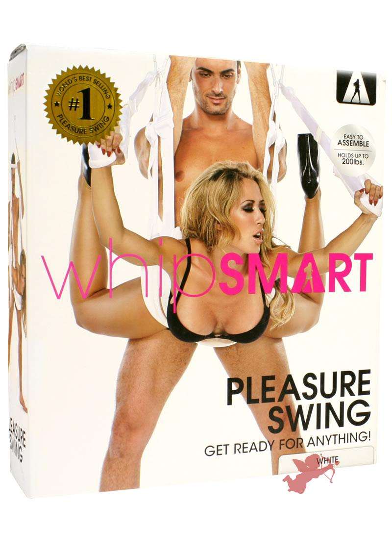 Whip Smart Pleasure Swing White