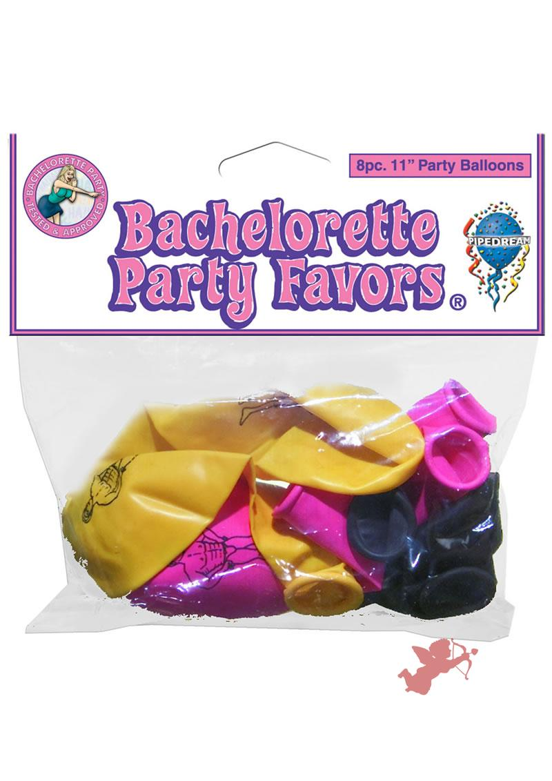 Bachelorette Party Balloons 8 Pack