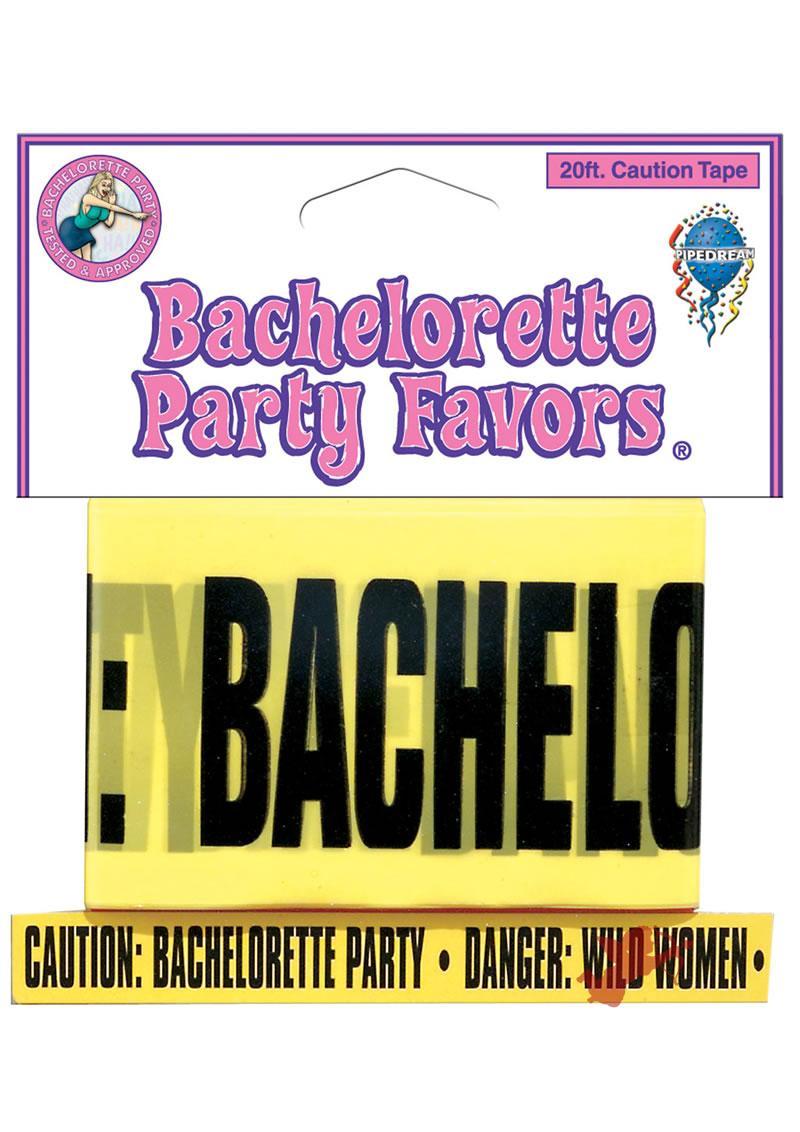 Bachelorette 20ft Caution Tape