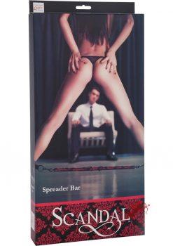 Scandal Spreader Bar Red/Black