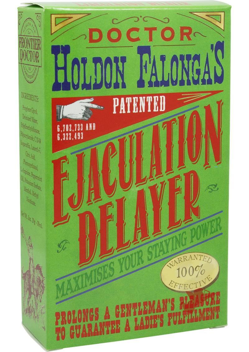 Dr. Holdon Falongas Ejaculation Delay 1 Ounce