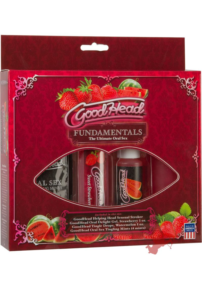 Goodhead Fundamentals The Ultimate Oral Sex Kit