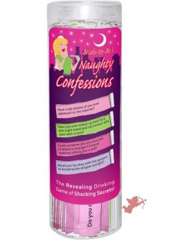 Bride To Be's Naughty Confessions Game