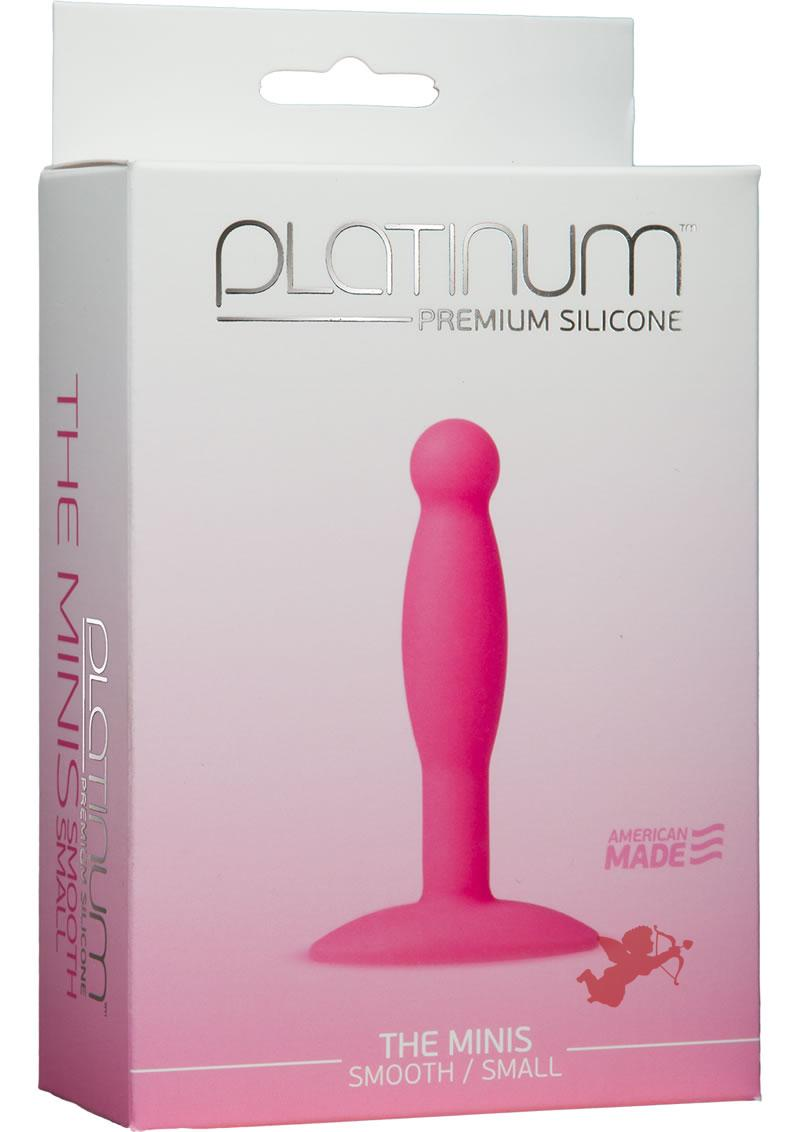 Platinum Silicone Minis Smooth Small Pnk