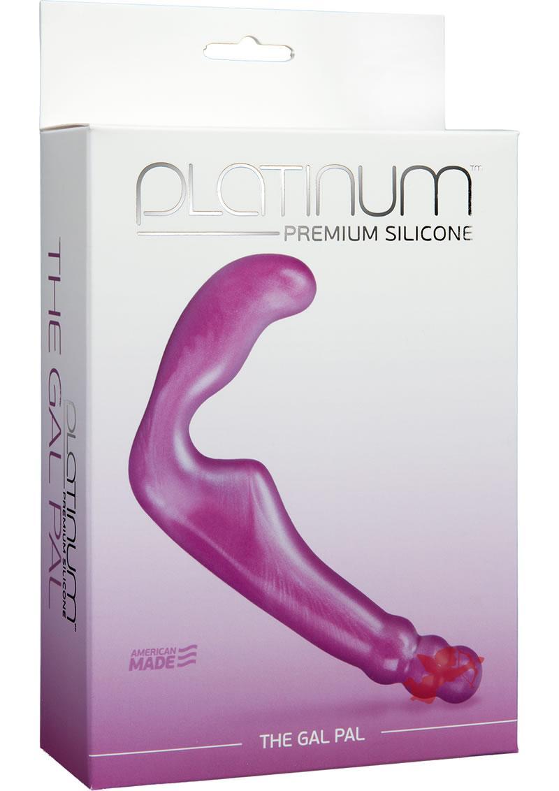 Platinum Silicone Gal Pal Purple