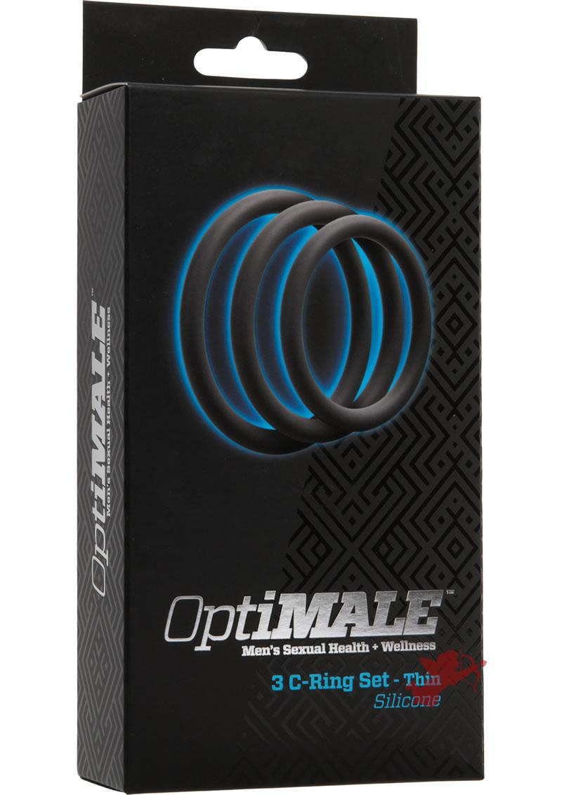Optimale 3 C-ring Thin Set Slate