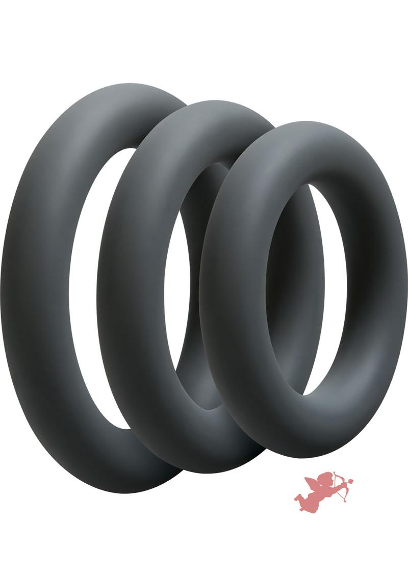 Optimale 3 C-ring Thick Set Slate