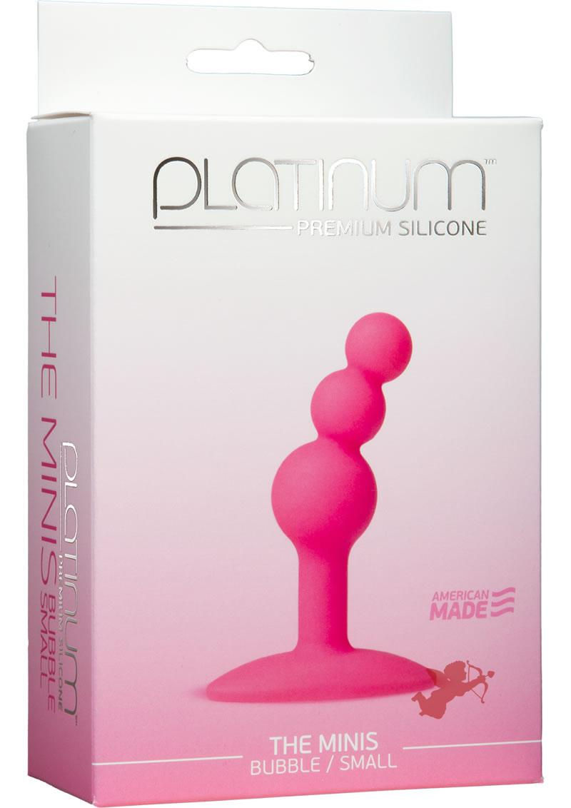 Platinum Premium Mini Bubble Small Pink