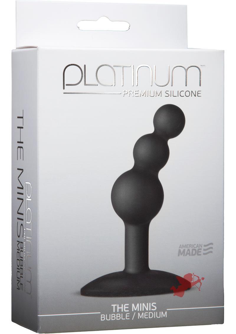 Platinum Premium Mini Bubble Med Black