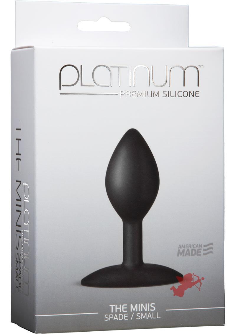 Platinum Premium Mini Spade Small Black