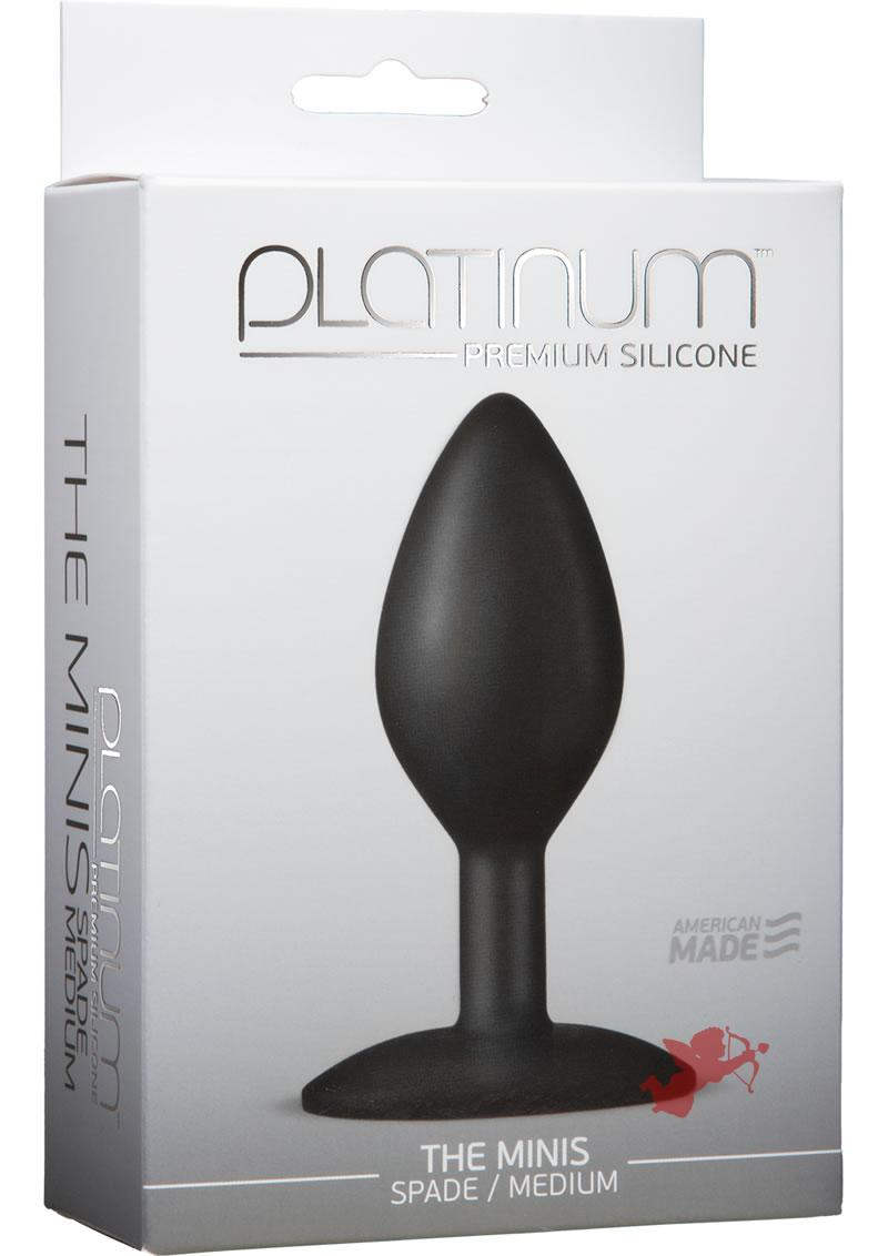 Platinum Premium Mini Spade Med Black