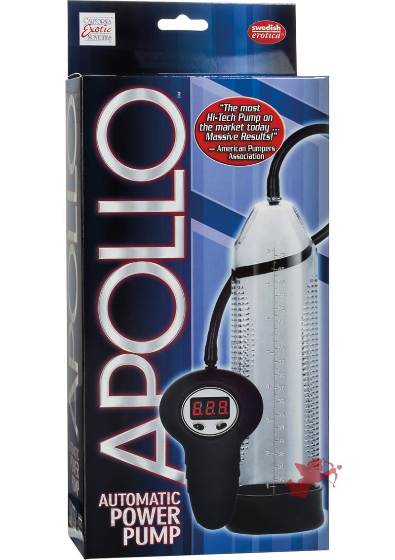 Apollo Automatic Power Pump Remote Control Clear 10 Inch