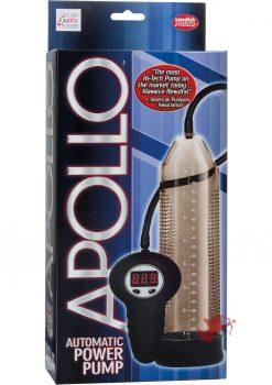 Apollo Automatic Power Pump Remote Control Smoke 10 Inch