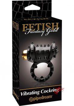Fetish Fantasy Gold Vibrating Cock Ring
