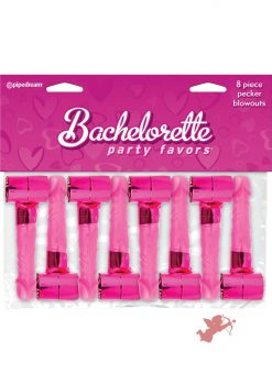 Bachelorette Party Pecker Blowouts 8 Pack