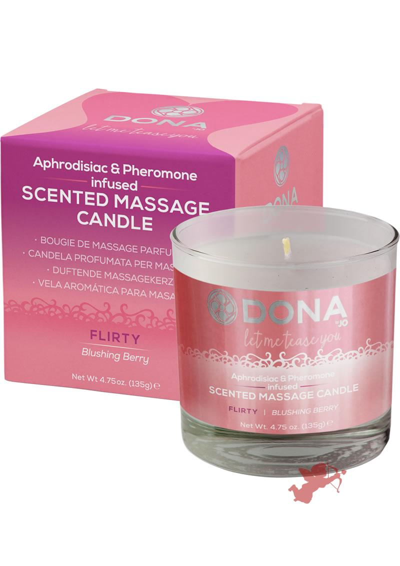Dona Massage Candle Blushing Berry 7.5oz