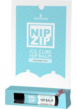 Nip Zip Ice Cube Nip Balm Chocolate Mint