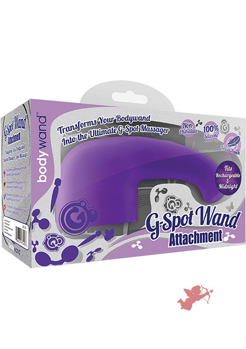 Bodywand G-Spot Wand Silicone Attachment Purple