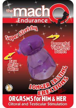The Macho Endurance Purple