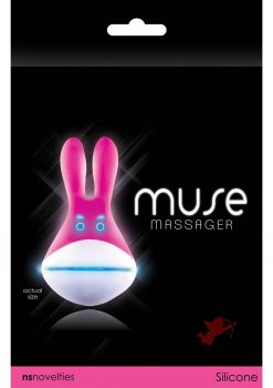 Muse Silicone Light Up Massager Pink