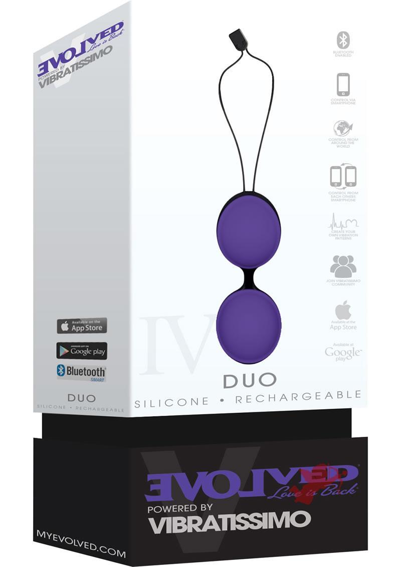Vibratissimo Duo Purple