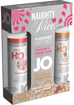 Jo Naughty Or Nice Lube Gift Set